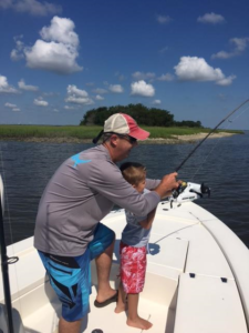 Father & Son fishing St Simons Island