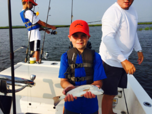 Kids redfish St Simons Island